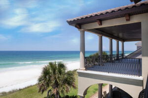A beautiful Gulf front home in 30-A Florida